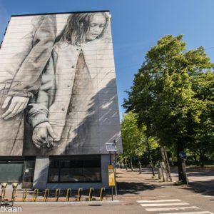 Seinämaalaus Helsinki