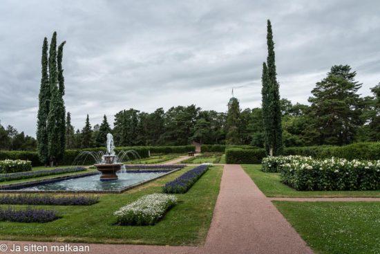 Kultarannan puutarha
